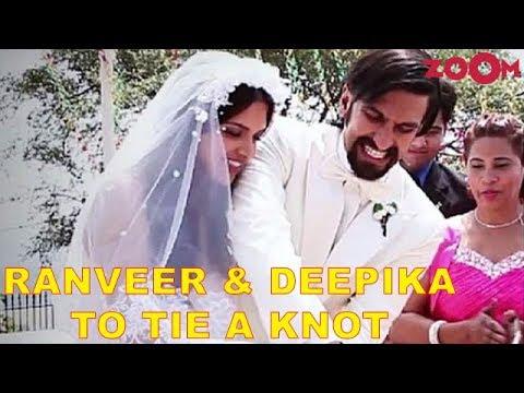 Ranveer Singh & Deepika Padukone CONFIRM their wedding date