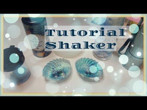 Tutorial/Watch me Craft ♥ Water-Shaker,Resin-Shaker ♥ Shell/Seashell/Muschel