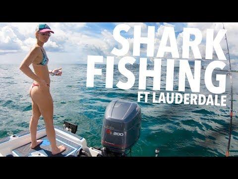 SHARK FISHING FORT LAUDERDALE!