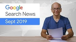 Google Search News (Sept '19) - changes in GSC, nofollow links, new meta tags, and more