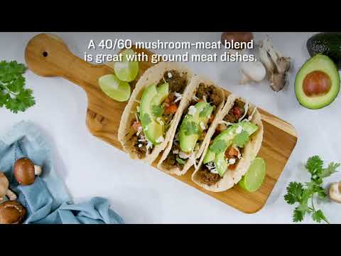 The Blend Scale: Blending Mushrooms and Meat Ratios