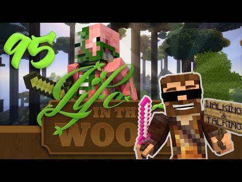 "Minecraft ""Life In The Woods 2"" - 1.7.10 - EP 95 - "" MOB FARMS & WORLD DISCOVERY!!"""