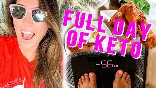 FAT BURNING Day Of Keto Foods! What I Eat In A Day - VLOG