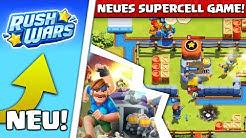 🤯🔥ERSTES MAL RUSH WARS! Neues Game von Supercell ist geil!
