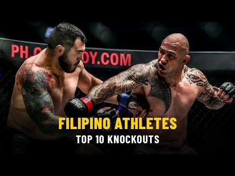 Top 10 Knockouts From Filipino Athletes | ONE: Full Fights