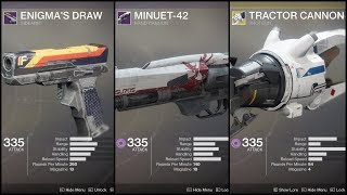 Destiny 2 - Viewer Loadout: Solo Prestige The Inverted Spire w/ Tractor Cannon, Sidearm, HC (No HUD)