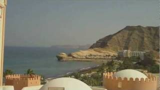 Oman the beauty of Muscat, Al Bustan and Shangri La  Bar Al Jissah 2012 HD