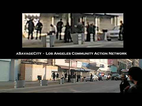 LAPD tasers man in wheelchair - new footage - new angle