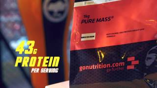 GoNutrition Pure Mass Weight Gain Formula