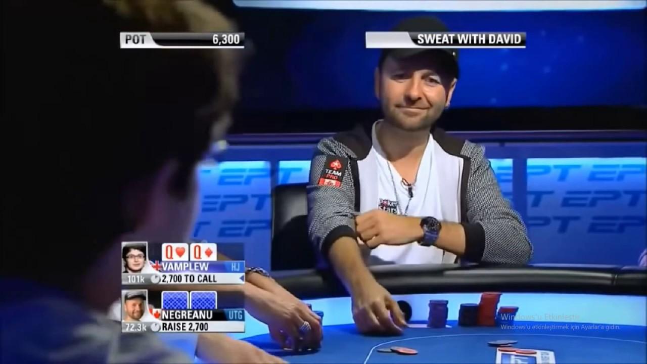 Dünyanın En İyi Poker Oyuncusu Rakibiyle Resmen Dalga Geçiyor!!