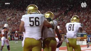 Notre Dame Texas Football Highlights