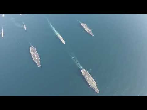 NEWS ALERT - Three Carrier Strike Force Exercise in Western Pacific!