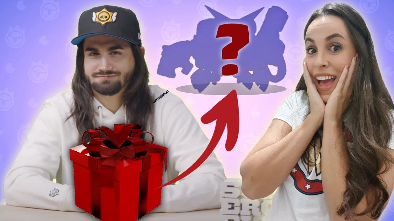 Ganhei um presente do Dani da Supercell