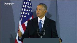 Obama Thanks Staff For Proving