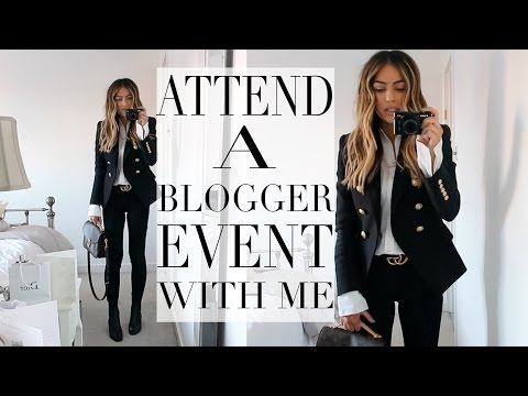 COME TO A LUXURY BLOGGER EVENT WITH ME | Lydia Elise Millen