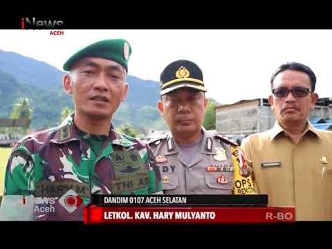 Pengamanan Pilkada Aceh Selatan | INews 26/06/2018