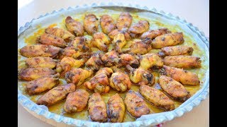 5 Dakikada  Mangal Tadında Tavuk Kanat Nasıl  Hazırlanır