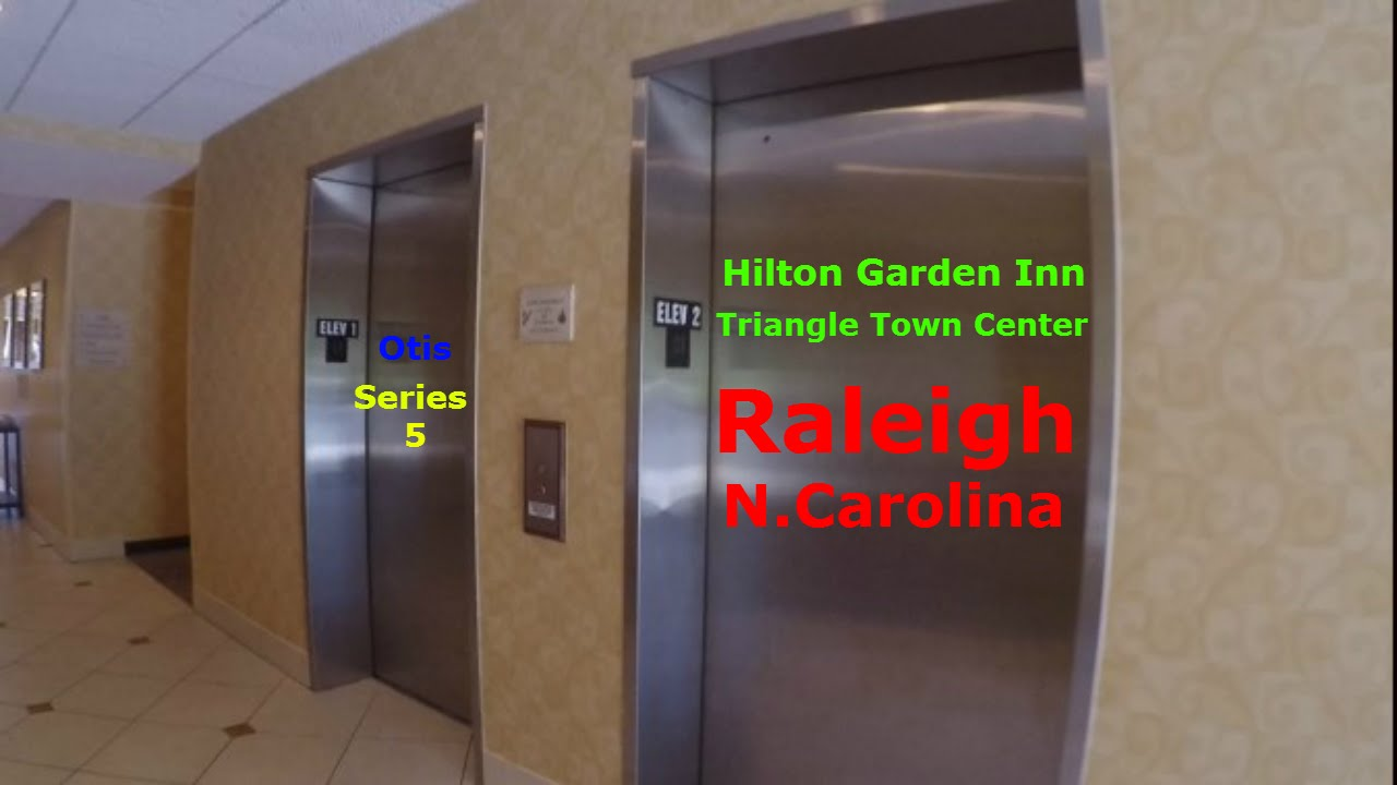 Otis Hydraulic Elevators Hilton Garden Inn Triangle Town Center