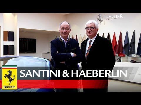 Antonio Santini and Marc Haeberlin visit Ferrari
