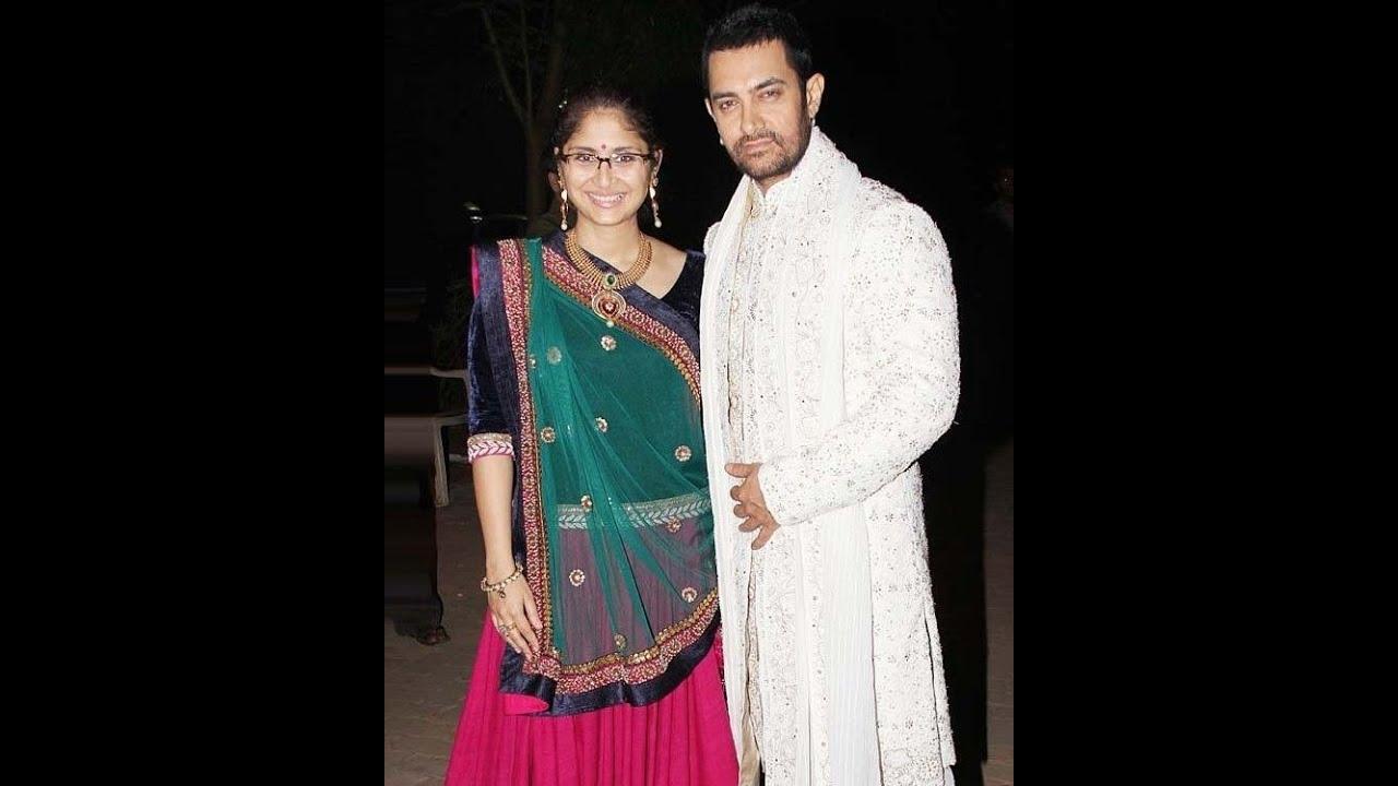 Actor Aamir Khan Family Wife Kiran Rao Ex Reena Dutta Kids Ira Junaid Azad
