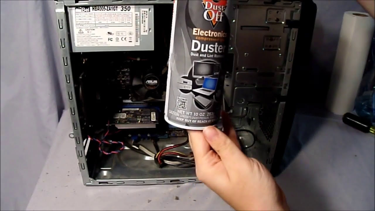 Computer Clean From Dust Out : How to clean dust out of your computer s playstation