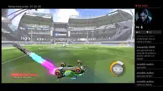Jugando rocket league con amigos xd
