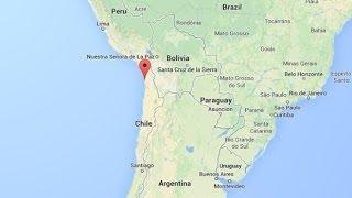 زلزال بقوة 8,2 درجات وتحذير من تسونامي في البيرو وتشيلي والاكوادور  - أخبار الآن