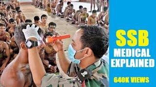 CLEAR SSB MEDICAL    SSB MEDICAL EXAMINATION PROCEDURE