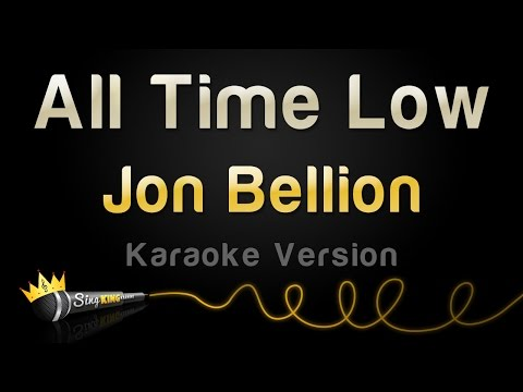 Jon Bellion - All Time Low (Karaoke Version)