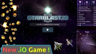 STARBLAST.IO!! New .io game - Starblast.io is the new Diep.io?!