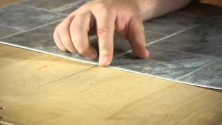 How to Install Linoleum Square Tiles : Let