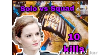 Solo VS Squad - spacemen gaming online game play