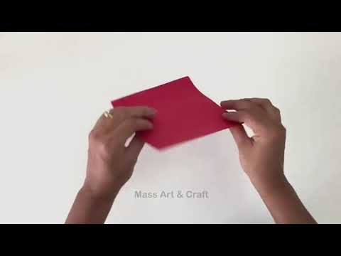 Diy craft by paper on wall.