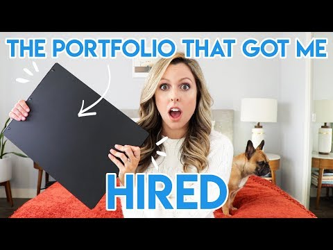 THE PORTFOLIO THAT GOT ME HIRED (FIRST ANIMATION JOB)!