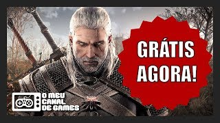 The Witcher 100% GRÁTIS AGORA!!! CORRE E PEGA!!!