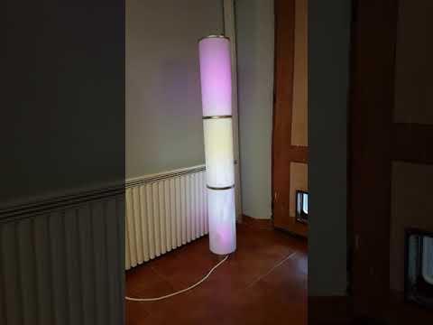 Music reactive lamp