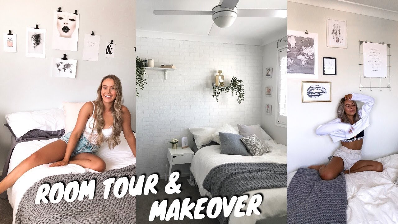 OUR ROOM TOUR & MAKEOVER'S! (minimalistic & Aesthetic