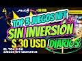 ⚠️ TOP 3 JUEGOS NFT GRATIS para GANAR DINERO Sin INVERSIÓN [OCTUBRE]