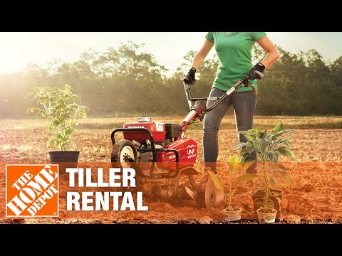 Tiller Rental - The Home Depot