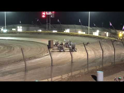 Lemoore Raceway Cal Cup 11/9/19 Jr Sprint Heat- Ty