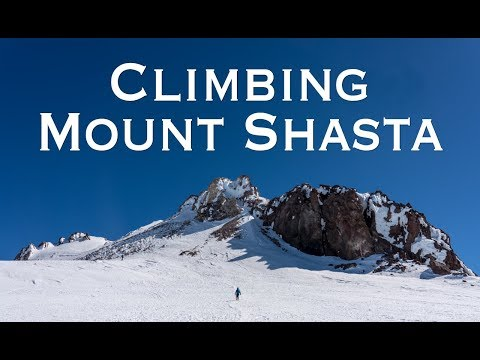 Hiking Mt Shasta via Avalanche Gulch (4k)