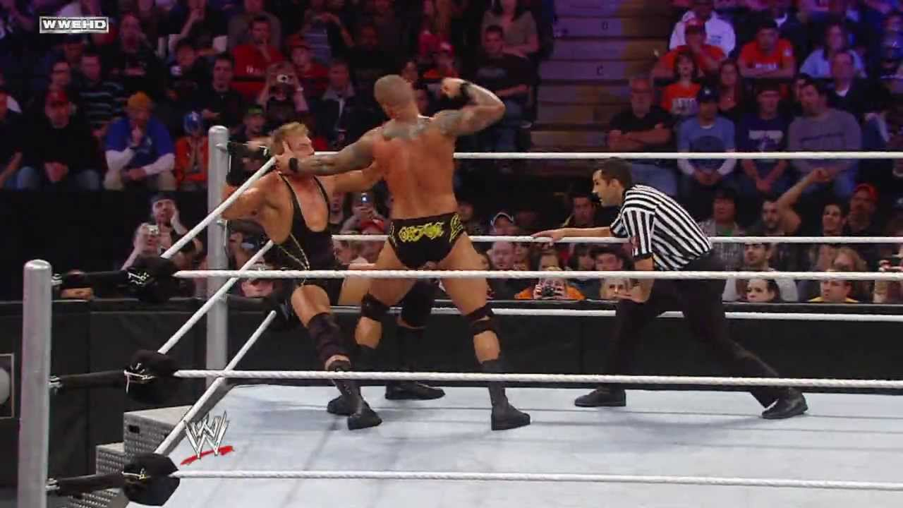 Extreme Rules 2010 Randy Orton Vs Jack Swagger YouTube