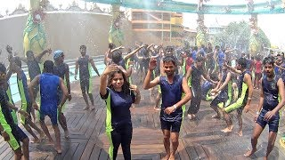 Rain Dance at Blue World Theme Park