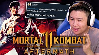 Mortal Kombat 11: Aftermath - Ed Boon Talks About ASH WILLIAMS... [REACTION]