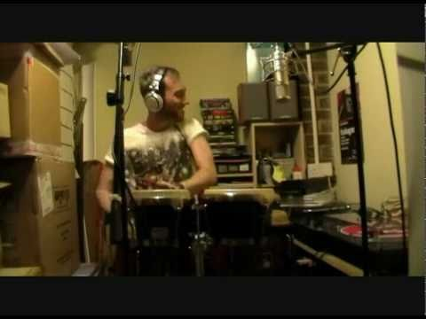House Music Live Percussion by Nick Fisher (Antranig - Back That Up)