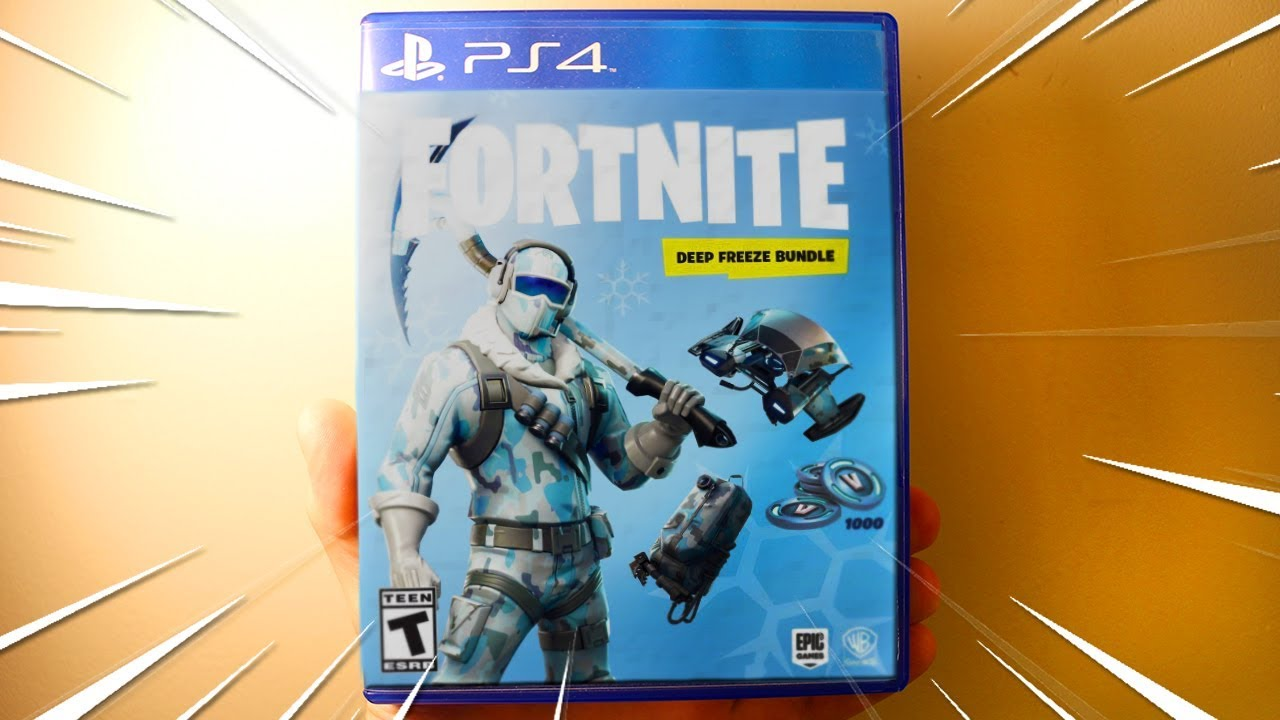 New Fortnite Deep Freeze Bundle Pack Fortnite Frostbite Skin With