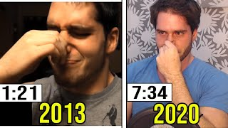 I CHALLENGE MYSELF From 7 YEARS AGO!