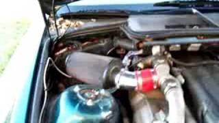 bmw with 1jzgte,broken turbos