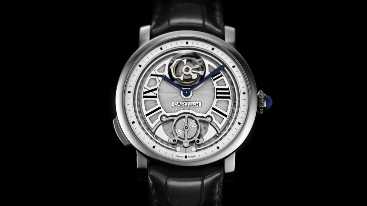 réplica Cartier Flying Tourbillon Minute Repeater