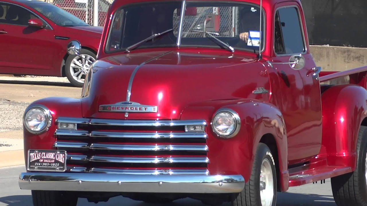1953 Chevrolet 3100 Series Classic Pickup Truck - YouTube